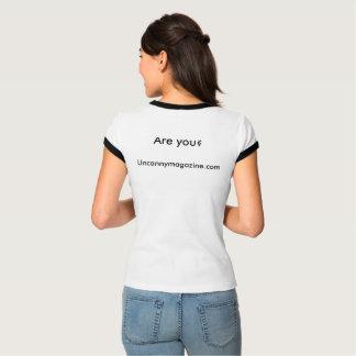 Vrouwen ben ik een Ruimtet-shirt van de Eenhoorn T Shirt