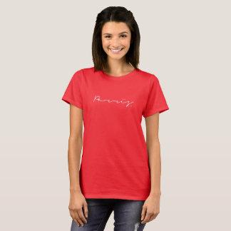 Vrouwen - de t-shirt van de Handtekening