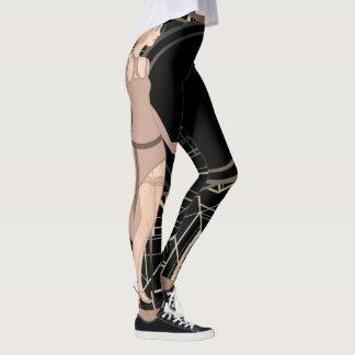 Vrouwen van de jaren '20 leggings