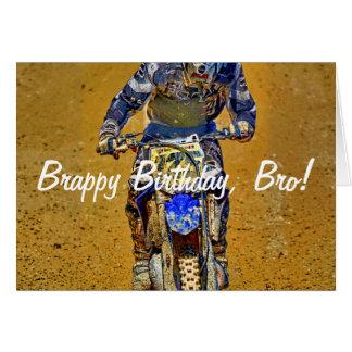 Vuil-Biking moto-X Champ Ontwerper #Gift Briefkaarten 0