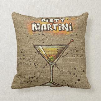 Vuile Martini/het Kosmopolitische Kussen van het
