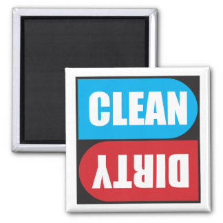 Vuile Schone Magneet voor Afwasmachine magneten