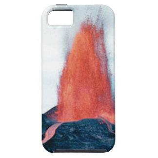 vulkanische brand tough iPhone 5 hoesje