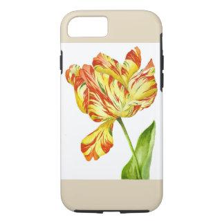 Vurige Tulp op een iPhoneHoesje iPhone 8/7 Hoesje