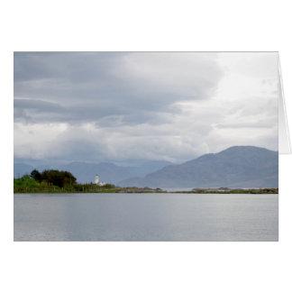 Vuurtoren op het Eiland van Skye Briefkaarten 0