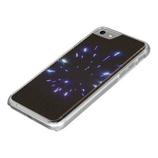 Vuurwerk die blauw richten Carved iPhone 8/7 hoesje
