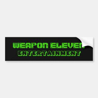 W.E.E. De Sticker van de bumper