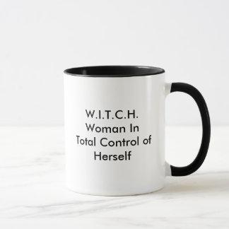 W.I.T.C.H.Woman in Totale Controle van zich Mok