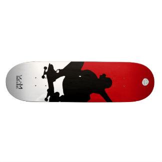 W.M. Het Dek van het skateboard