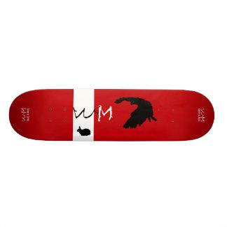 W.M. Het Dek van het skateboard - Roofdier versus