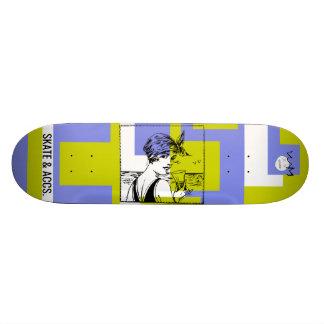 W.M. Het Dek van het skateboard - Vintage Uitgave