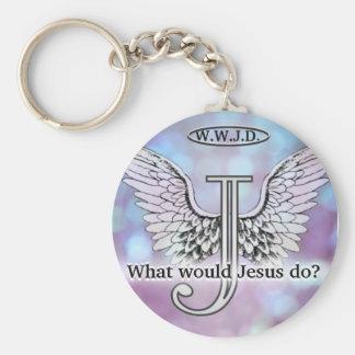 W.W.J.D wat zou Jesus doen? Sleutelhanger