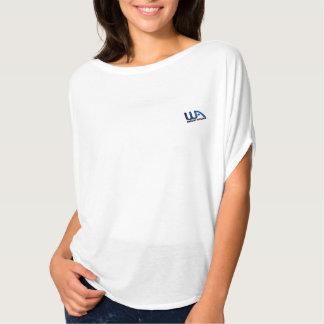 WA Bella van vrouwen+De Bovenkant van de Cirkel T Shirt