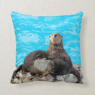 Waar de Rivier de Otters van het Zee ontmoet Sierkussen