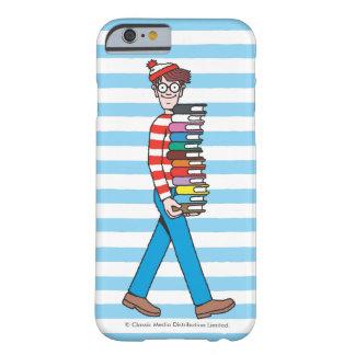 Waar Dragende Stapel Waldo Boeken is Barely There iPhone 6 Hoesje