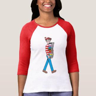 Waar Dragende Stapel Waldo Boeken is T Shirt