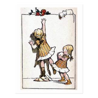 """""""Waar een wil is, is een weg"""" Wijnoogst Briefkaart"""
