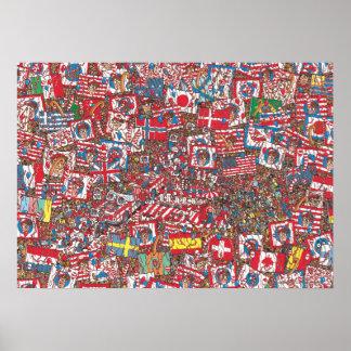 Waar Enorme Partij Waldo is Poster