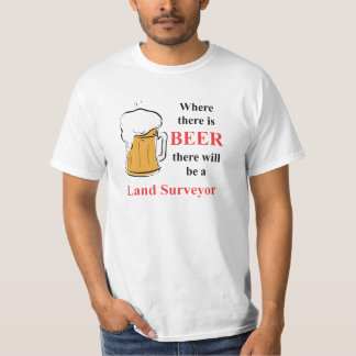 Waar er Bier is - land Landmeter T Shirt