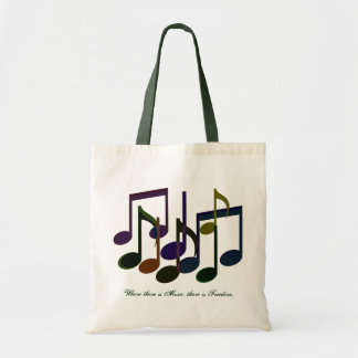 Waar er Muziek is Budget Draagtas