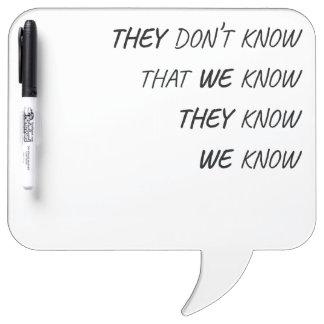waar iedereen het weet whiteboard