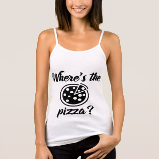 Waar is de Pizza? Tanktop