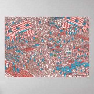 Waar Land Waldo van Inslagen is Poster