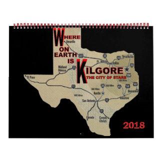 Waar op de Kalender van Earth_Kilgore 2018