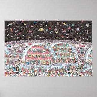 Waar Waldo   in de Toekomst is Poster