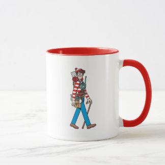 Waar Waldo met al zijn Materiaal is Mok