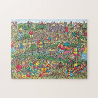 Waar Waldo   Vijandige Reuzen is Legpuzzel