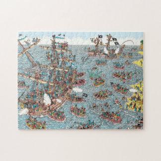 Waar Waldo   Zijnd een Piraat is Legpuzzel