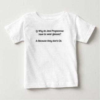 Waarom de programmeur van Java glazen moet draag Baby T Shirts