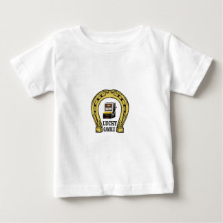 waarom gelukkige gok baby t shirts