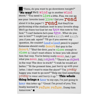 Waarom het Engels zo Moeilijk is te leren Poster