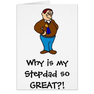 Waarom mijn zo GROTE Stepdad? is! Kaart