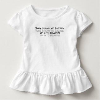 Waarom tribune ye die omhoog in hemel staren kinder shirts