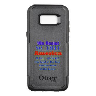 Waarom wij ons verzetten tegen. Voor Amerca OtterBox Commuter Samsung Galaxy S8+ Hoesje