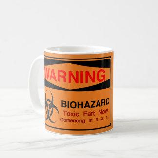 Waarschuwing Biohazard Koffiemok