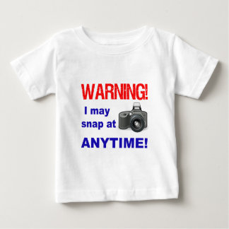 Waarschuwing! Ik kan altijd breken! Baby T Shirts