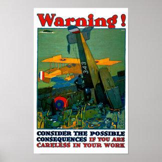 Waarschuwing! Poster