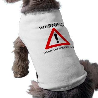 Waarschuwing T-shirt