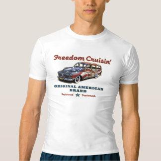 Wacht van Cruisin van de vrijheid de Americana T Shirts