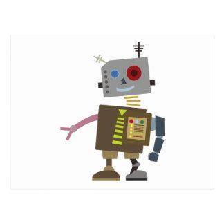 Wacky Robot Briefkaart