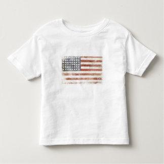 Waggel T-shirt met de Koele Vlag van de V.S.