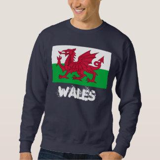 Wales met Welse vlag Trui