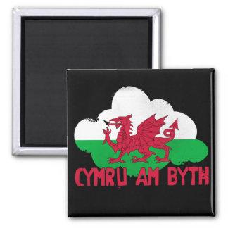 Wales voor altijd koelkast magneet