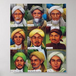 Wali Allah s.w.t. van Sunan Poster
