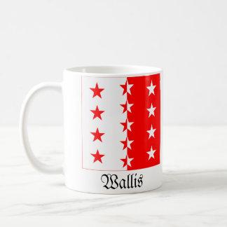Wallis, de Vlaggen van Schweiz Fahnen Koffiemok