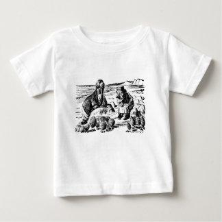 Walrussen, Carpeter en Oesters Baby T Shirts